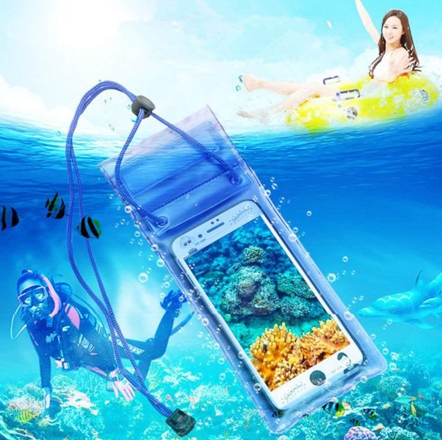 Su Altı Çekimi Su Geçirmez Şeffaf Kilitli Cep Telefonu ...